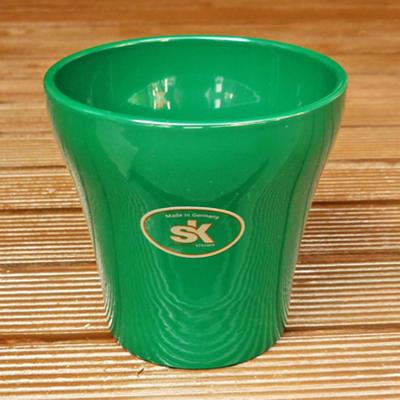 ドイツ製鉢カバールッカエメラルドグリーン11cm3号鉢用ハイドロカルチャー(水耕栽培)に最適な鉢おし