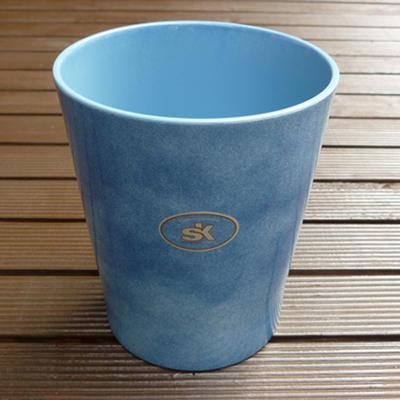 在庫処分ドイツ製鉢カバーメリーナ(パッション)ブルー14cm4号鉢用ハイドロカルチャー(水耕栽培)に