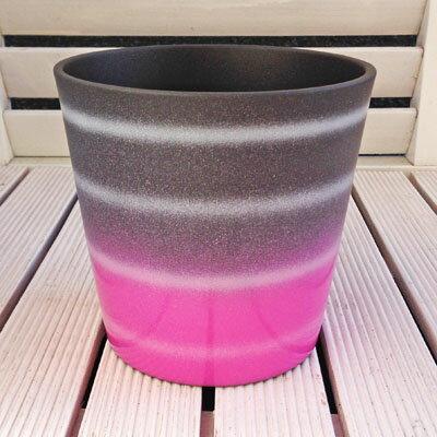 ドイツ製鉢カバーダラス・ミスティックバイオレット・ブラック16cm45号鉢用ハイドロカルチャー(水耕