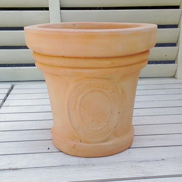 植木鉢ミータムテラコッタ色23cmFEI-SB-16-004おしゃれヨーロピアンなテラコッタアンティ
