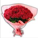 バラ 100本の花束 高品質国産使用[送料無料]05P03Dec16