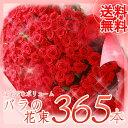 【送料無料】バラ花束 365本 無料のメッセージカード付き 05P03Dec16