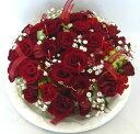 【フラワーケーキ】レッドローズ【誕生日花】【クール便でお届け!】【記念日 花】