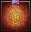 D'Addario・ダダリオ / マンドリン用弦 NBM11540 Nickel Bronze Mandolin Set, Custom Medium, 11.5-40 4本セット