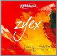 D'Addario ダダリオ / Zyex ザイエックス (ビオラ弦 ADGCセット)【smtb-tk】