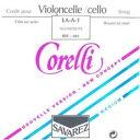 SAVAREZ サバレス / Corelli Crystal コレルリ クリスタル チェロ用弦(A線524-1、D線524-2、G線524-3、C線524-4)