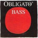 Pirastro ピラストロ / OBLIGATO オブリガート(コントラバス弦 GDAEセット)【smtb-tk】