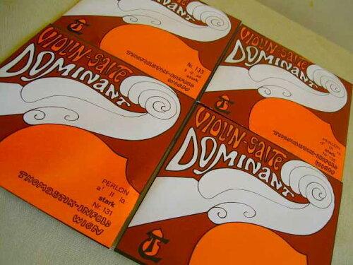 旧パッケージ・大特価品!Thomastik-Infeld/DOMINANT・ドミナントStarkバイオリン弦4/4サイズ用Set弦【smtb-tk】