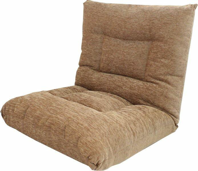 【送料無料】 ポケットコイルリラックスチェアー 座椅子 カラー:ライトブラウン 完成品 amigo-y-035 ■き可能■ ■きOK■