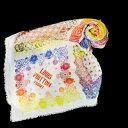 【中古】 美品 ルイヴィトン LOUIS VUITTON ショール ストール スカーフ マフラー オフホワイト カシミヤ シルク 64EC363