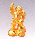 仏像 七福神■ 大黒天 純金メッキ 9.5■合金製 【高岡銅器】
