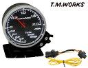 T.M.WORKS BoostGauge 2.0Kpa表示モデル+ハーネスセット コペンローブ(ターボ) LF400K ( 14/6〜 )