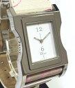 クリスチャンディオール 時計 レディースウォッチ 腕時計 白文字盤 CD 女性用 ラインストーン入り ベルト  ウォーツ Dior 【中古】