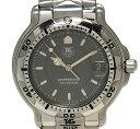 タグホイヤー 時計 6000シリーズ WH1112 メンズウォッチ 腕時計 メンズウォッチ グレー文字盤 QZ メンズ 紳士用 SS ウォッチ TAG HEUER 【中古】