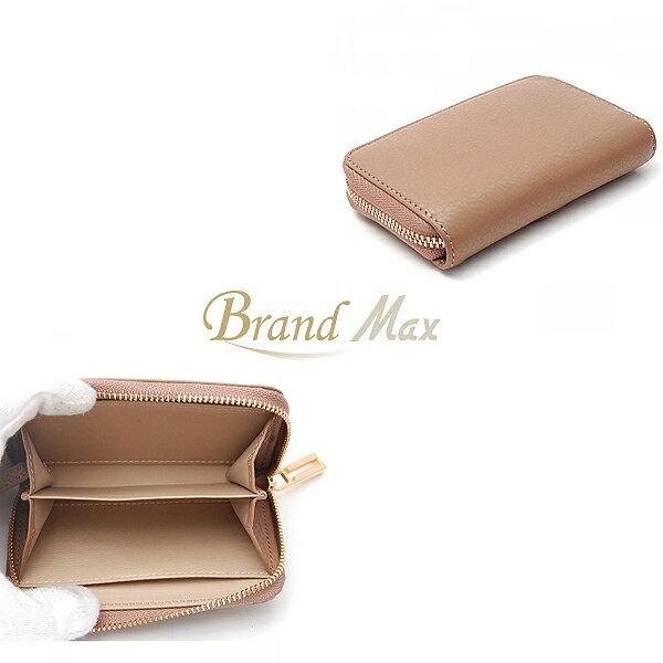 【BrandMax】トリーバーチ/ラウンドファスナー/コインケース/レザー/未使用品