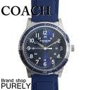 コーチ COACH 時計 メンズ 腕時計 ステンレス レザー ベルト ウォッチ 腕時計 レザーバンド アウトレット W5015 NAV ネイビー コーチ COACH メンズ レディース MMM