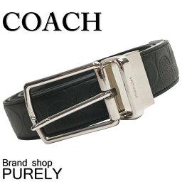 コーチ COACH ファッション 小物 メンズ ベルト ハーネス リバーシブル シグネチャー レザー ベルト F55158 BLK ブラック コーチ COACH メンズ レディース UUU MMM 02P01Apr16