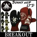 15-16 DEATH LABEL / デスレーベル BUNNY HOP LTD グローブミトン グローブ 手袋 メンズ レディース スノーボード