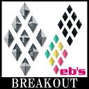 eb's / エビス METAL DIAMOND デッキパッド スノーボード