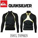 QUIKSILVER / クイックシルバー INSUL TOPSKIN ウェットスーツ インナー サーフィン 防寒対策 SURF QSA124750 メール便送...