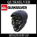 QUIKSILVER / クイックシルバー METALITE SURF CAP 0.5mm サーフ キャップ サーフィン 防寒対策 SURF CAP QSA124758 ネコポス送料無料