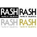 RASH / ラッシュ 16×8cm サーフ / ステッカー