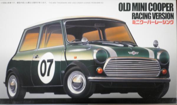 オールドミニクーパー レーシング 1/24 フジミ RS63 [新品]