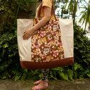【お昼寝布団バッグ】【特大サイズ】パンダのお友達(ブラウン)手作りお昼寝布団バッグ【入園準備】