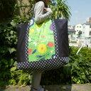 ショッピングふとん 【特大サイズ】昼の植物園手作りお昼寝布団バッグ【入園準備】