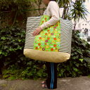 ショッピングふとん 【お昼寝バッグ】【保育園準備】【特大サイズ】アートなお花畑手作りお昼寝布団バッグ