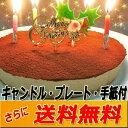 クリスマスケーキ 誕生日ケーキ 送料無料 生チョコレアチーズ...