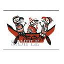 ネイティブ ポストカード アート イラスト デザイン カナダ 先住民 インディアン 雑貨 [ THE JOURNEY ]