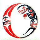 カナダ 先住民 ネイティブ インディアン 雑貨 TATTOO 刺青 ★ タトゥシール MOON スピリット イン ザ ムーン