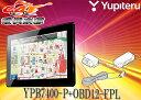 YUPITERUユピテル7型ワンセグポータブルナビYPB7400-P+OBD12-FPLセット