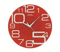 斬新なデザインが魅力!AMSアームス掛け時計AMS9462