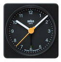 【日本正規代理店品】 BRAUNアラームクロック  BNC002 BRAUN目覚まし時計 ブラウンアラームクロック