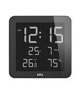 【日本正規代理店品】ブラウンBRAUNデジタル掛け時計BNC014BK-NRC置き時計