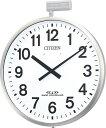 シチズン大型掛け時計 屋外 電波掛け時計 パルウェーブM611B 4MY611-B19 CITIZEN掛け時計