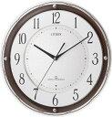 シチズン掛け時計 電波掛け時計4MY805-006 スリーウェイブM805 シチズン時計 CITIZEN掛け時計