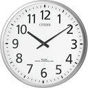 掛け時計 シチズン 大型 電波掛け時計 オフィス CITIZEN スリーウェイブM821 4MY821-019 グリーン購入法適合 CITIZEN掛け時計 名入れ