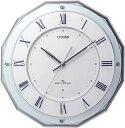 CITIZEN掛け時計 高性能スリーウェイブ! 電波掛け時計4MY835-004 スリーウェイブM835 シチズン時計 グリーン購入法適合
