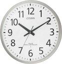 シチズン大型掛け時計 電波掛け時計 スペイシーM465 8MY465-019 シチズン時計 電波掛け時計 壁掛け電波時計  CITIZEN掛け時計