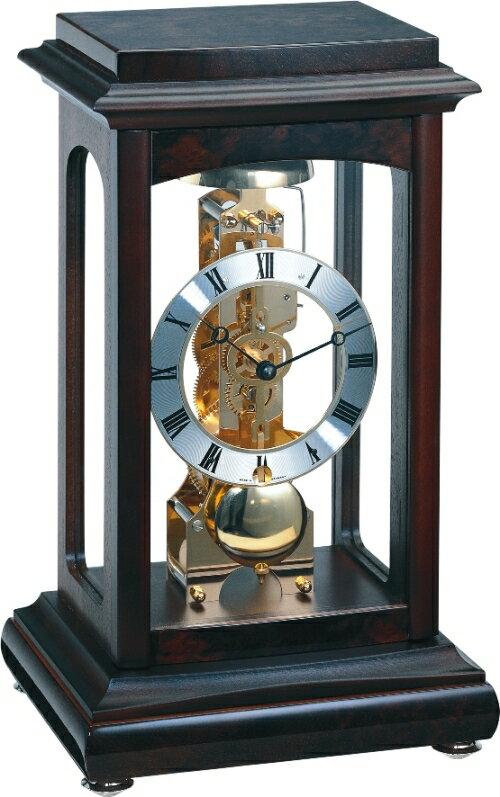 ヘルムレ HERMLE 置き時計 機械式 Winchester ウォルナット 22957-Q30791 ヘルムレ置き時計