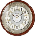 からくり時計 スモールワールド コンベルS電波時計 4MN4...