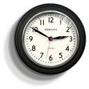 NEW GATE(ニューゲート) COOKHOUSE ブラック COOK343K 掛け時計 レトロな壁掛け時計【送料無料】