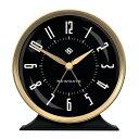 NEW GATEニューゲート アラームクロック Hotel Alarm Clock - Black HOTE527CK