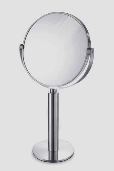 ZACK ステンレススタンドミラーFELICE スタイリッシュZACK 40114 鏡