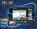 FE-8F 1kW-H仕様 8型LEDカラー液晶GPS・プロッタ・魚探 FUSO(フソー)【魚群探知機/GPS魚探/GPS魚群探知機】