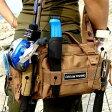 釣りバッグ フィッシングバッグ ルアーエギング  全3色 レディース/メンズ 4WAY ウエストバッグ ショルダーバッグ【ゆうパケット利用不可】