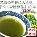 【 花粉症対策 べにふうき緑茶 1.2g×40本 】ゆうパケ...